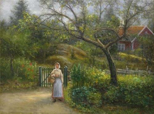 Шведский художник Johan Severin Nilsson (26 работ)