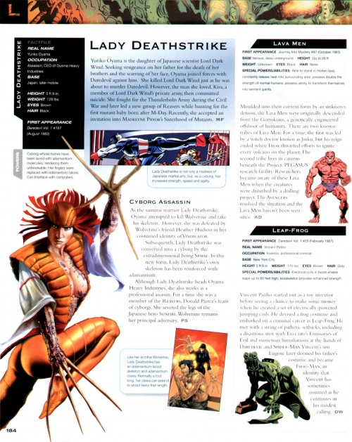 Marvel Encyclopedia (176 работ) (1 часть)