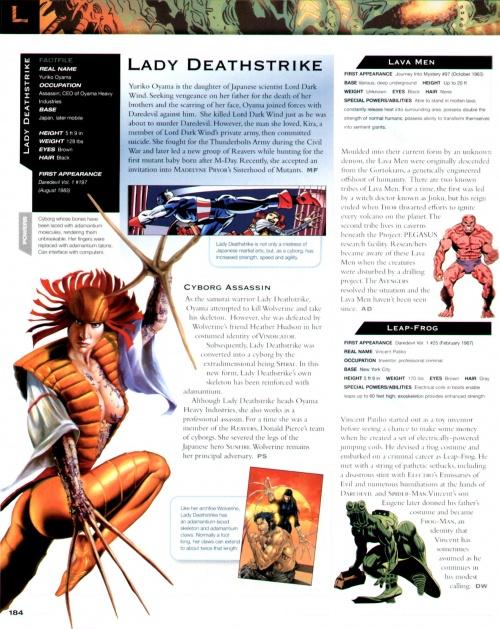 Marvel Encyclopedia (176 работ) (1 часть)