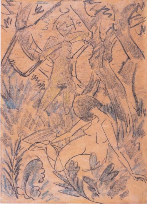 Artworks by Otto Mueller (161 работ) (6 часть)