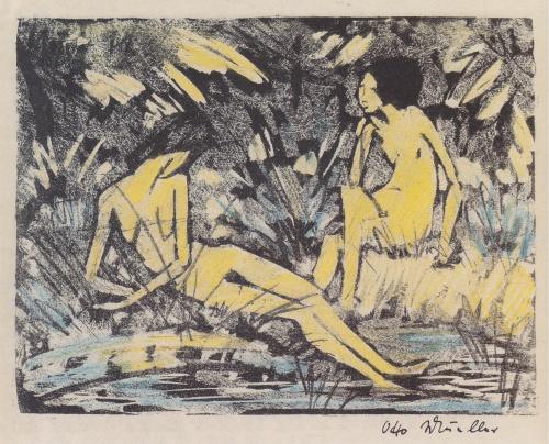 Artworks by Otto Mueller (161 работ) (2 часть)