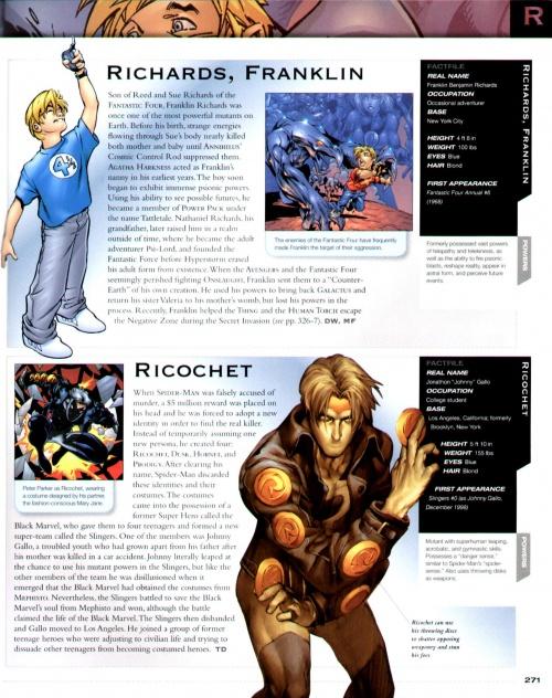 Marvel Encyclopedia (187 работ) (2 часть)
