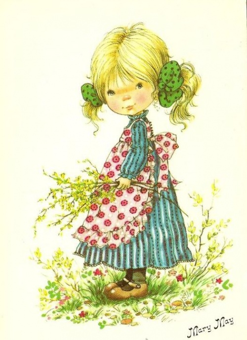 Имя с открытки Mary May (71 работ)