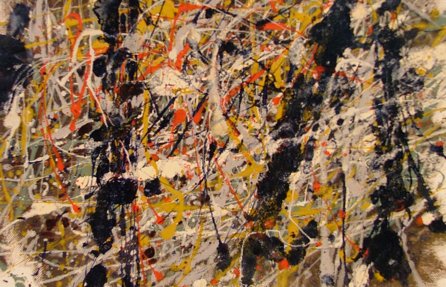 jackson pollock painting analysis For analysis of works by new york school painters like jackson pollock, see: analysis of modern paintings (1800-2000) lavender mist (number 1) (1950) national gallery, washington dc.