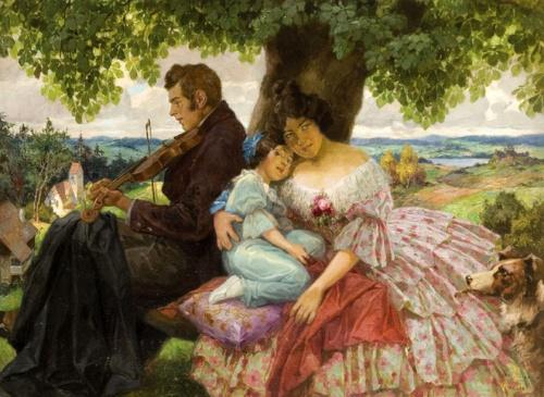 Австрийский художник Rudolf Alfred Hoger (1877-1930) (32 работ)