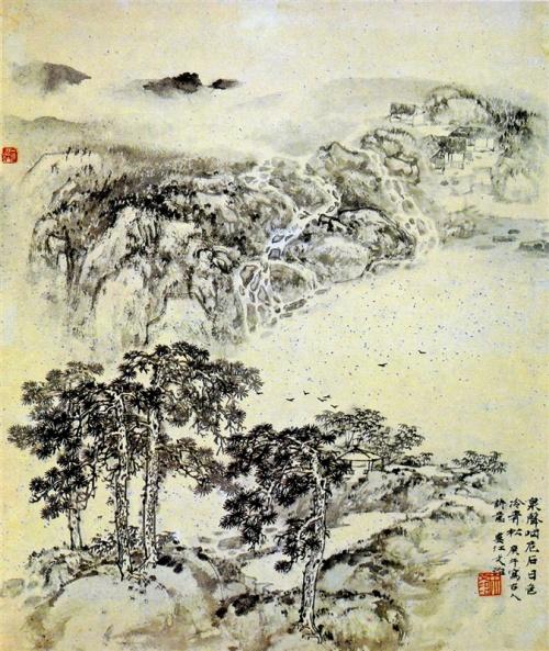 Китайский художник Song Wenzhi (1919-1999) (89 работ)