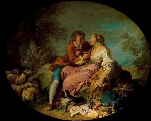 Живопись - Творчество Франсуа Буше (141 работ)
