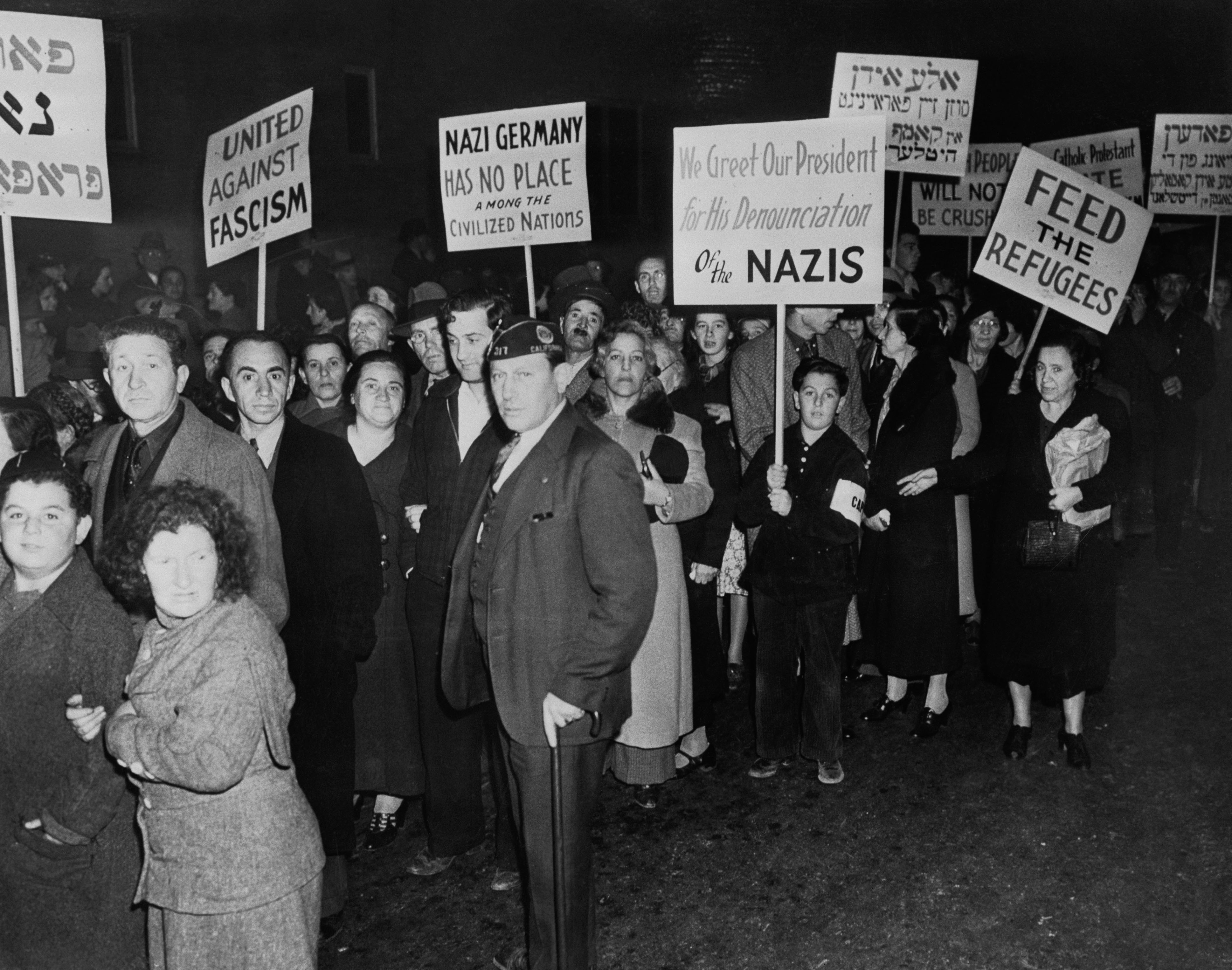 a history of anti semitism in nazi germany Nazi anti-semitism was derived from the hateful prejudices of its leaders, particularly adolf hitler - but it also had much older origins.