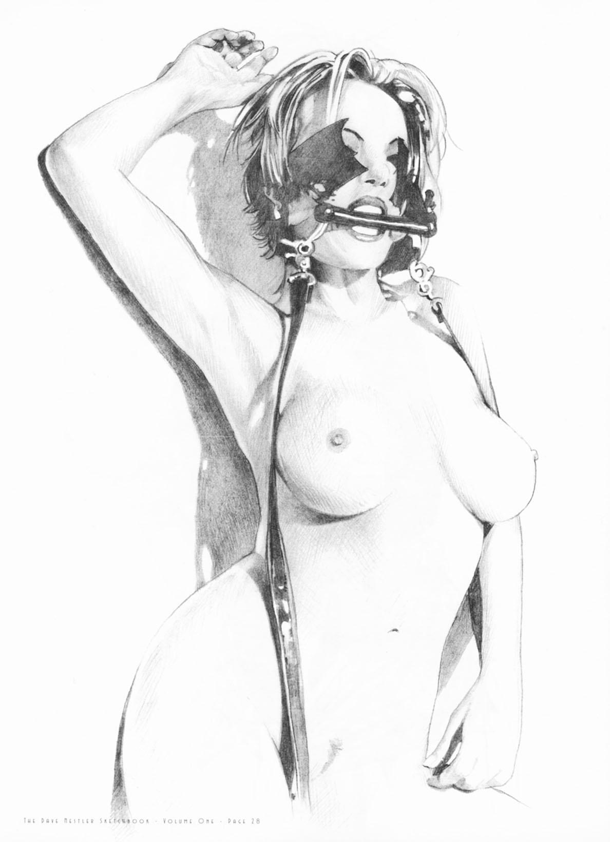 Черно белая эротика рисунки 13 фотография