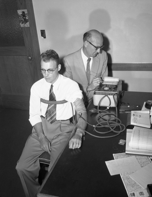 history of polygraph test in the First, tice says, a person can trick the tester on probable-lie questions during a polygraph's pre-test interview, the tester usually asks a person to answer questions they are likely to lie about.