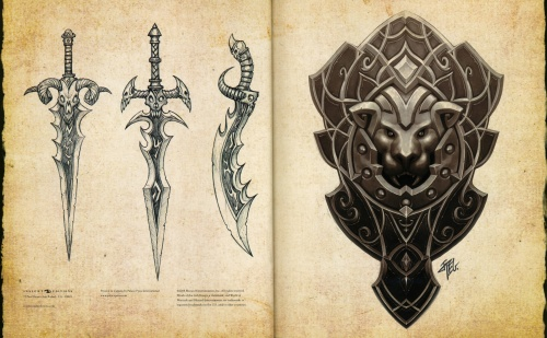 The Art of World of WarCraft - Wrath of the Lich King (55 работ) (1 часть)
