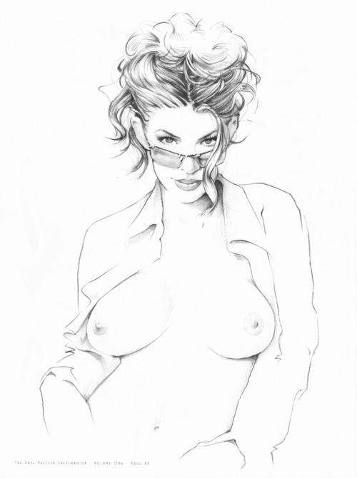 The Dave Nestler Sketchbook Volume 1 (АртБук) (66 работ)