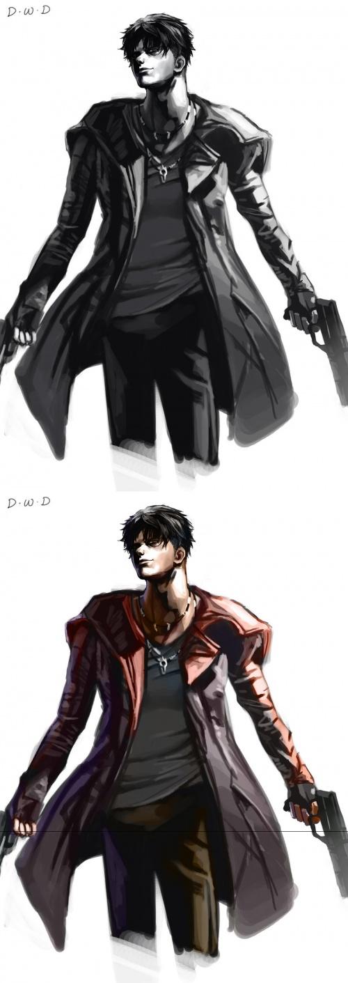DanteWontDie - китайский аниме художник (46 работ)