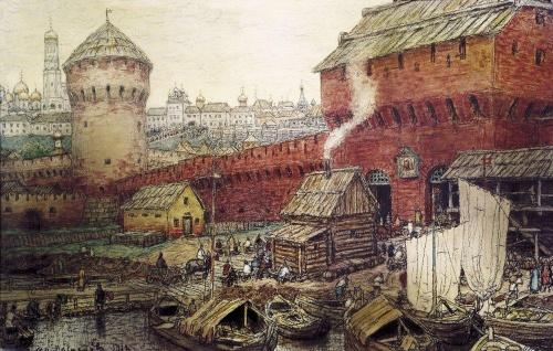 Русские художники - Васнецов Аполлинарий Михайлович (145 работ)