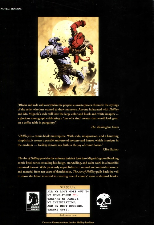 The Art Of Hellboy (ArtBook) (203 работ)