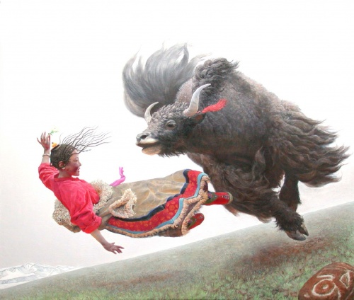 Китайский художник Wang Yi Guang (16 работ)