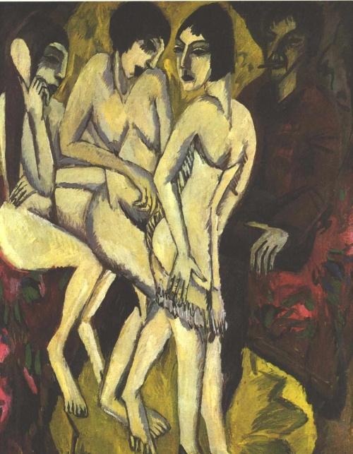Эрнст Кирхнер / Ernst Kirchner - Экспрессионизм, Абстракционизм (474 работ) (2 часть)