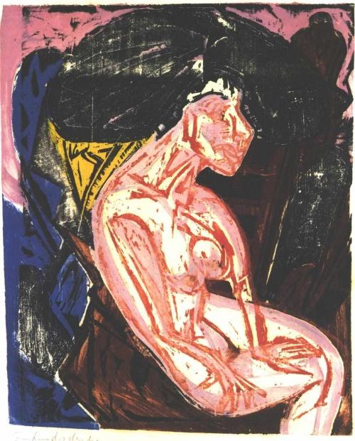 Эрнст Кирхнер / Ernst Kirchner - Экспрессионизм, Абстракционизм (474 работ) (1 часть)