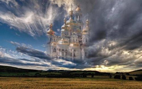 Православные коллажи (52 работ)