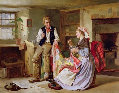 Английский художник William Henry Midwood (35 работ)