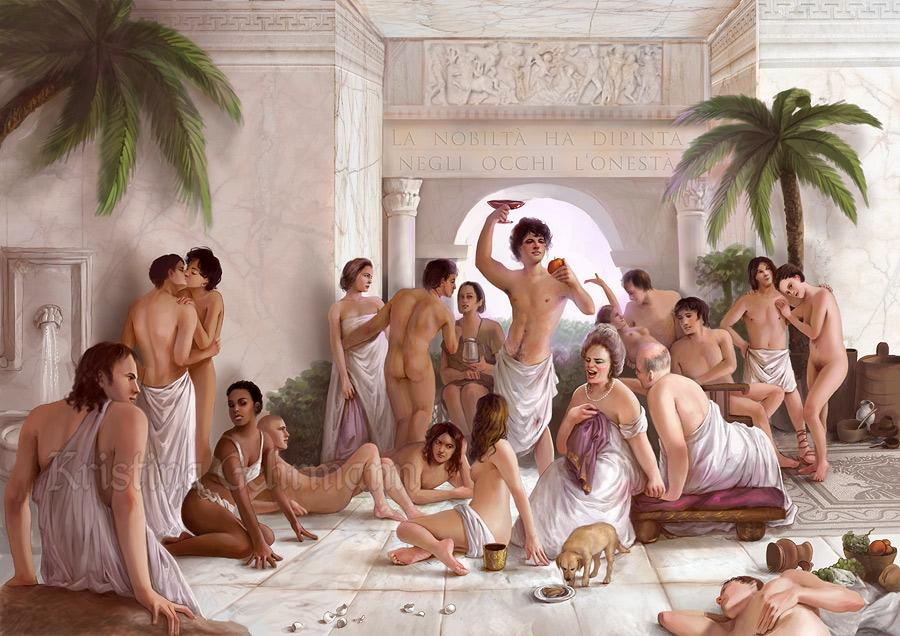 Смотреть оргии в древнем мире
