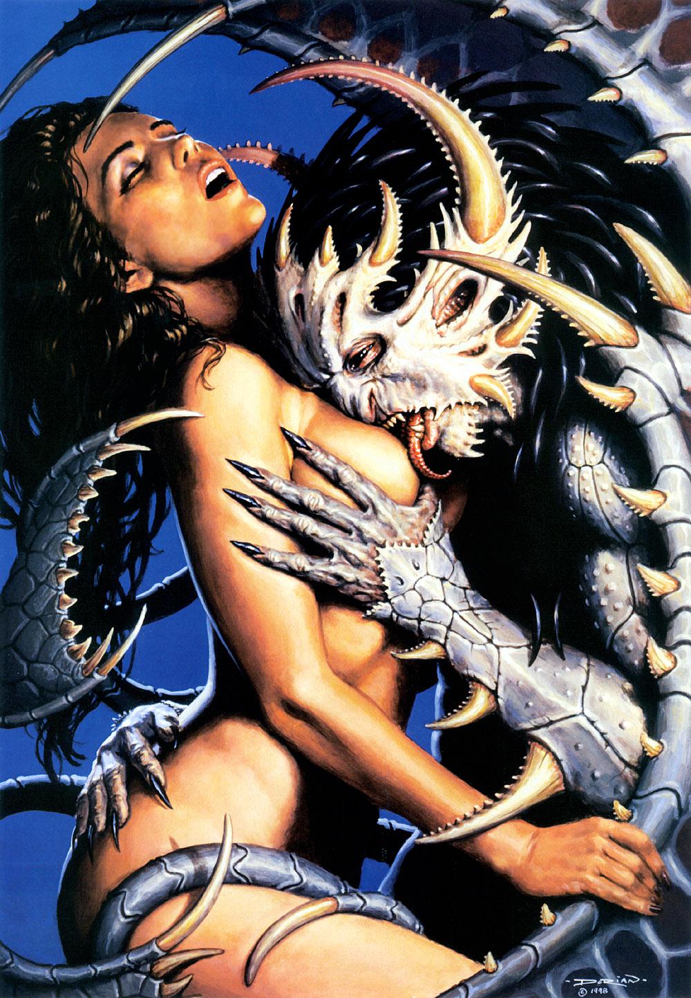 Секс женщин с демонами 5 фотография