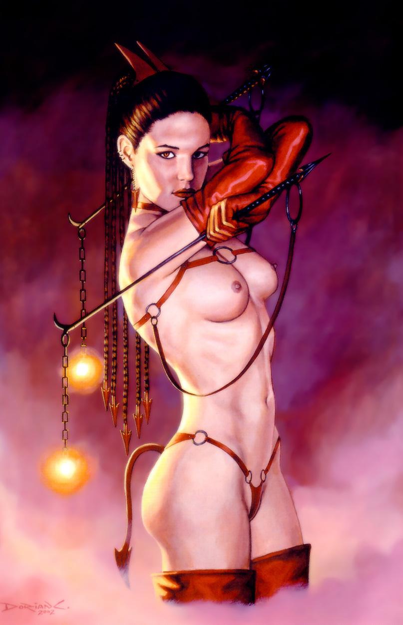 Alien nude mistresses
