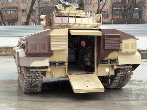 Тяжёлая боевая машина пехоты БМПТ-64 (7 фото)