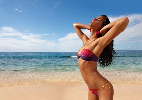Sara Sampaio - Calzedonia Energy Breeze Swimwear Collection 2012 (11 фото)