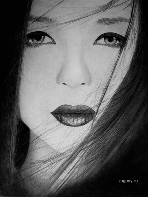 Рисунки карандашом Ken Lee (22 работ)