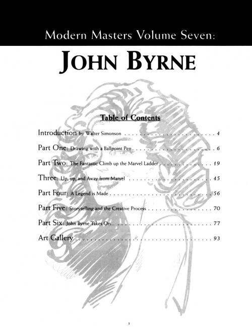 Modern Masters Volume 7: John Byrne (128 работ)