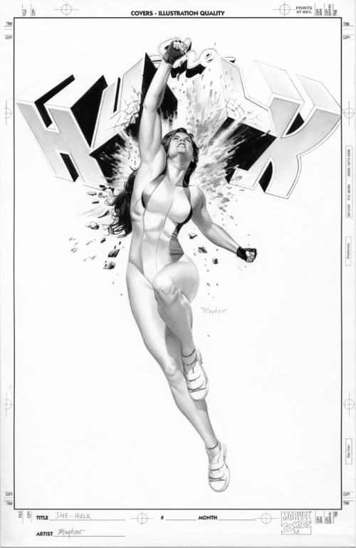 Работы художника Mike Mayhew (41 работ)