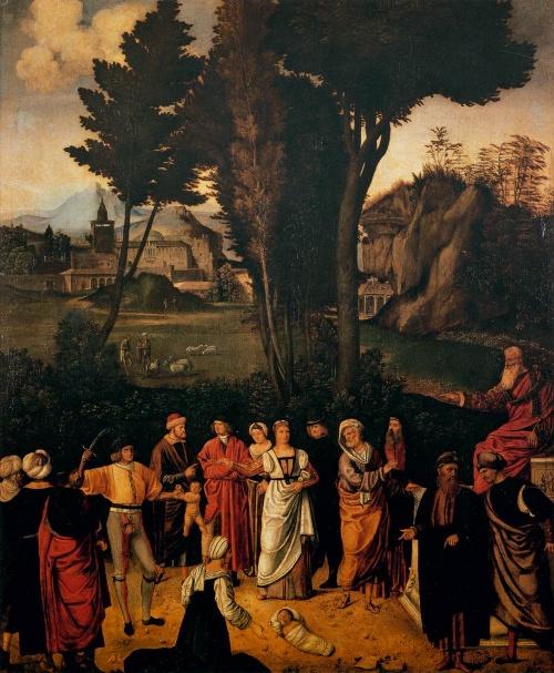 Коллекция работ художника Джорджоне (47 работ)