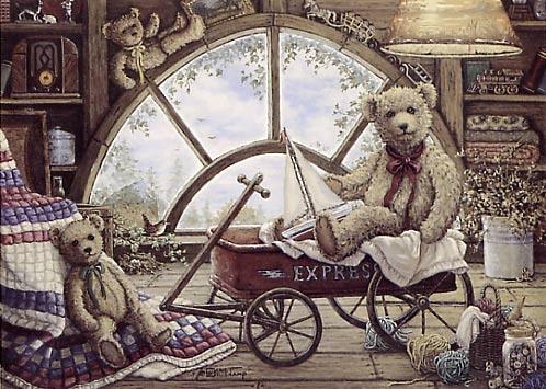 Уютный мир Жанет Крускамп (119 работ)