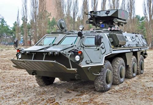 Украинский бронетранспортер БТР-4 (10 фото)