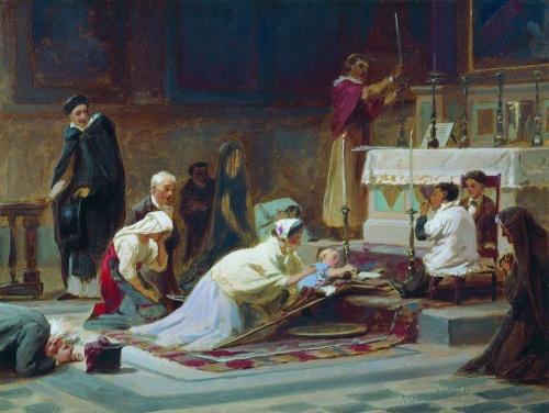 Русские художники - Бронников Федор Андреевич (107 работ)
