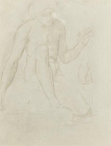 Английский живописец Sir William Blake Richmond (1842-1921) (90 работ)