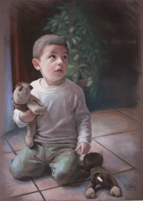 Коллекция работ художника Рубен Белльосо Адорна (60 работ)