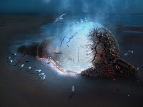 Мистические миры Frank Melech (330 работ)