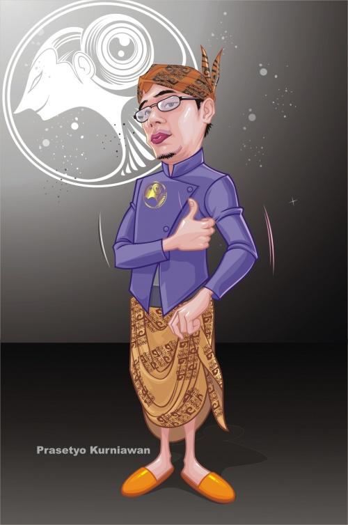 Mezaqat wak saim - индонезийский художник (ник vektorkong) (122 работ)
