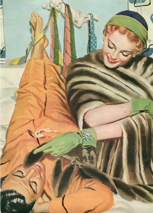 American illustrators (20th Century) часть 7 (100 работ)