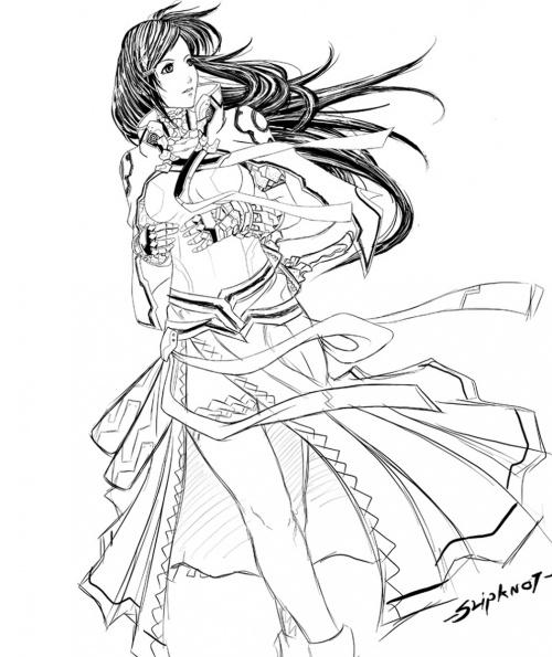 Фэнтези - аниме художника из Тайланда NeoArtCorE (129 работ)