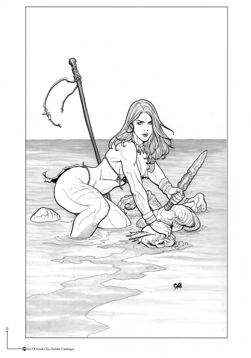 The art of Frank Cho (50 работ)