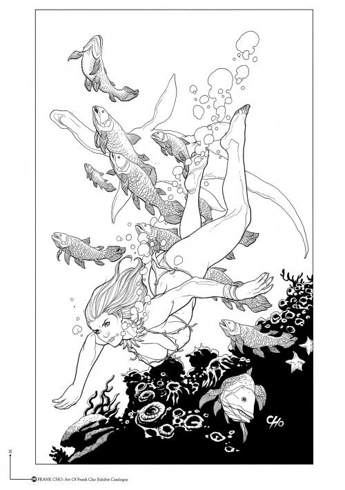 The art of Frank Cho (50 работ)