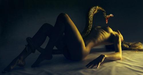 Фотоарт Дениса Катина (32 фото) (эротика)