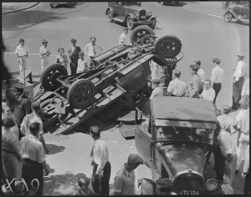Фото: Ретро-аварии прошлого века (37 фото)