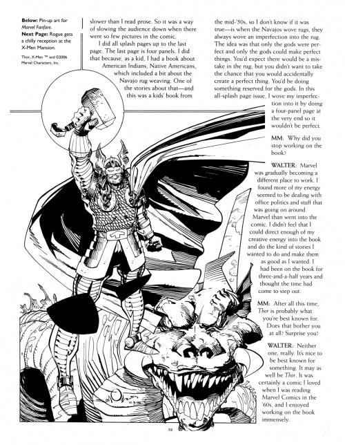 Modern Masters Volume 8: Walter Simonson (130 работ)