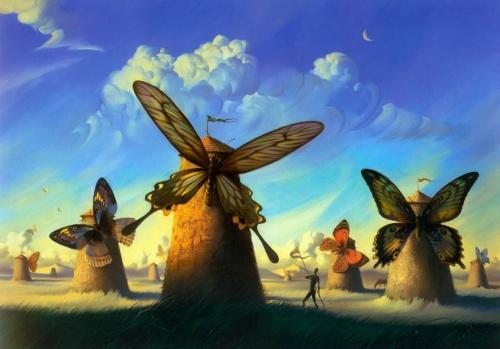 Работы художника Vladimir Kush (231 работ)