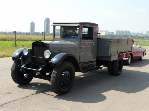 Советский автомобиль ЗИС-5 (162 фото)