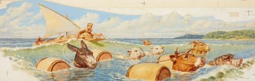 Американский художник-иллюстратор Walter Beach Humphrey (53 работ)